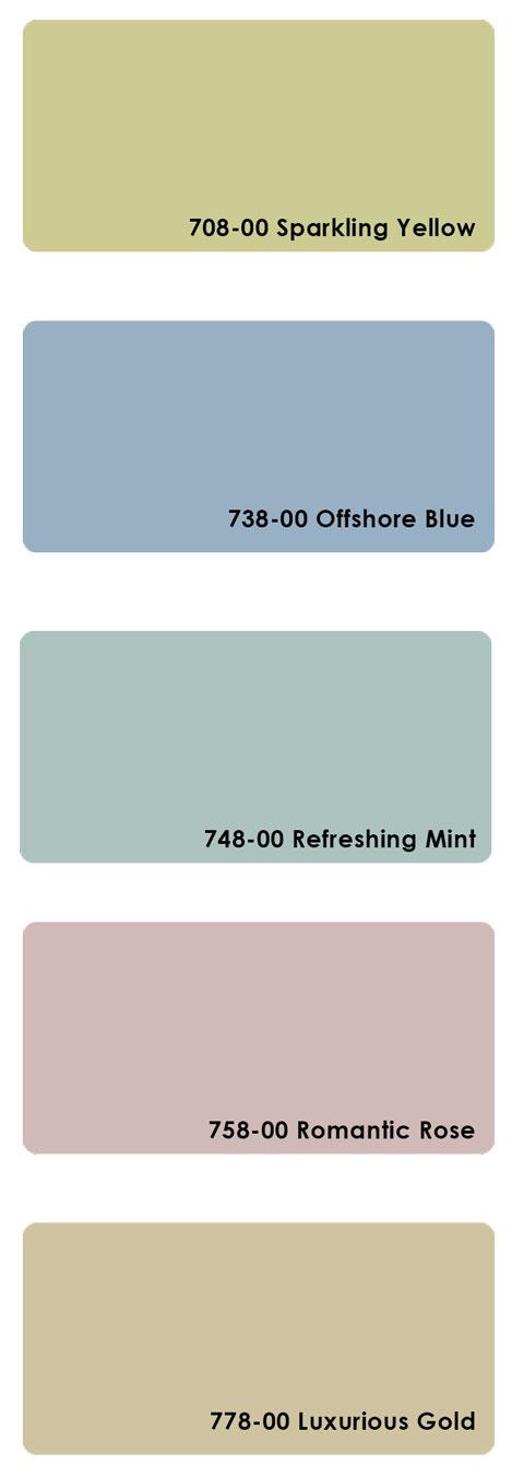 Farbübersicht farbige Milchglasfolie 7xx-00
