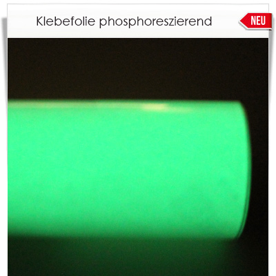 Phosphoreszierende Klebefolie