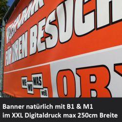 Digitaldruck auf PVC Banner
