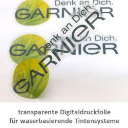 transparente glänzende Digitaldruckfolie für wasserbasierende Ti