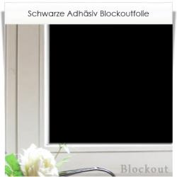 fenster abdunkeln mit adh sionsfolie schwarz mit lichtdichtem blockout effekt. Black Bedroom Furniture Sets. Home Design Ideas