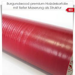 Burgundwood premium Holzdekorfolie