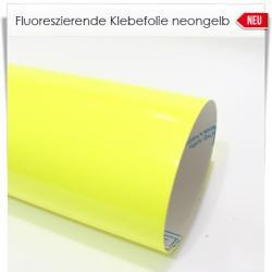 Klebefolie fluoreszierend