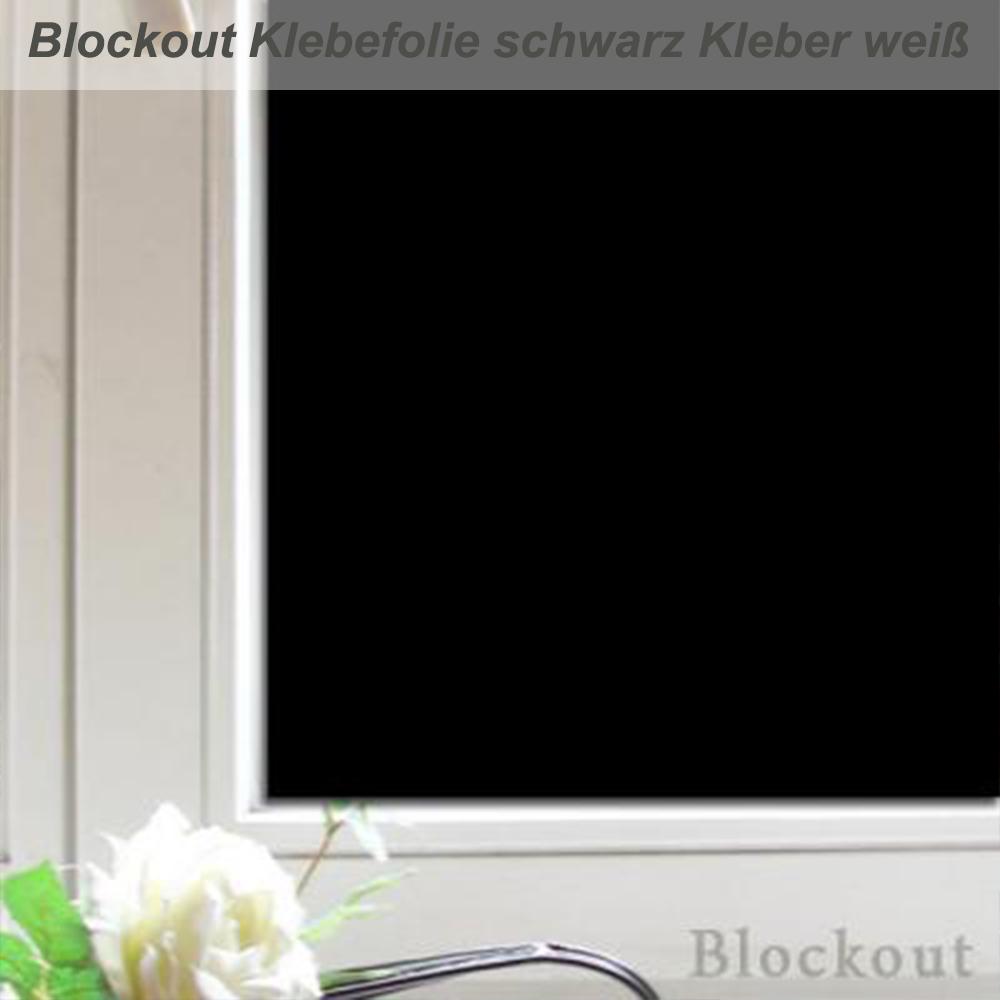 Blockout Folie Macht Fenster Absolut Blickdicht Und Lichtdicht