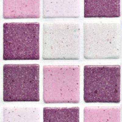 weiß rose Mosaik Fliesenfolie