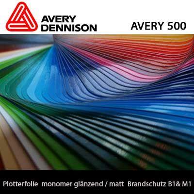 Plotterfolie Avery 500