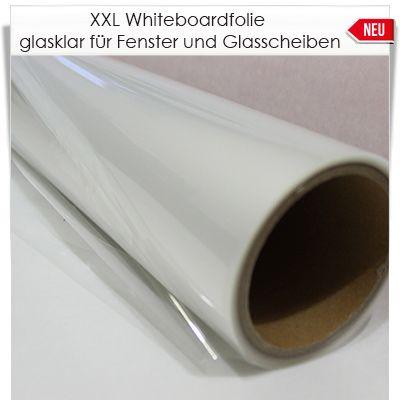Whiteboardfolie für Glasflächen