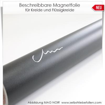 Beschreibbare Magnetfolie für Kreide