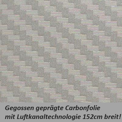 Carbonfolie silber grau for Graue klebefolie
