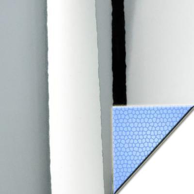 Chromfolie Polyester mit Luftkanaelen