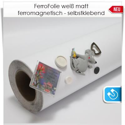 Ferro Folie weiß matte Oberfläche