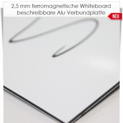ferromagnetische alu verbundplatten whiteboard. Black Bedroom Furniture Sets. Home Design Ideas