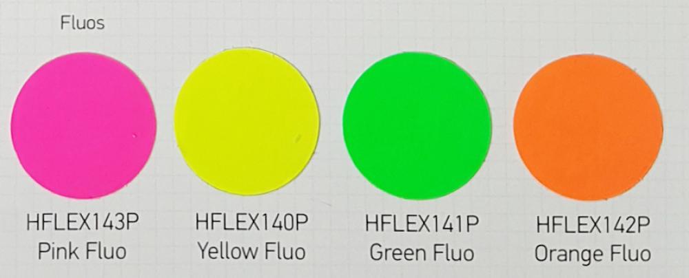 Flexfolie fluoreszierend fuer Baumwolle