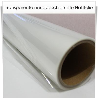 Haftfolie transparent
