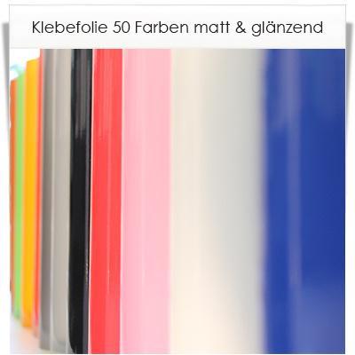 Selbstklebefolie 48 farben in matt oder gl nzend mit 123 for Milchglas klebefolie