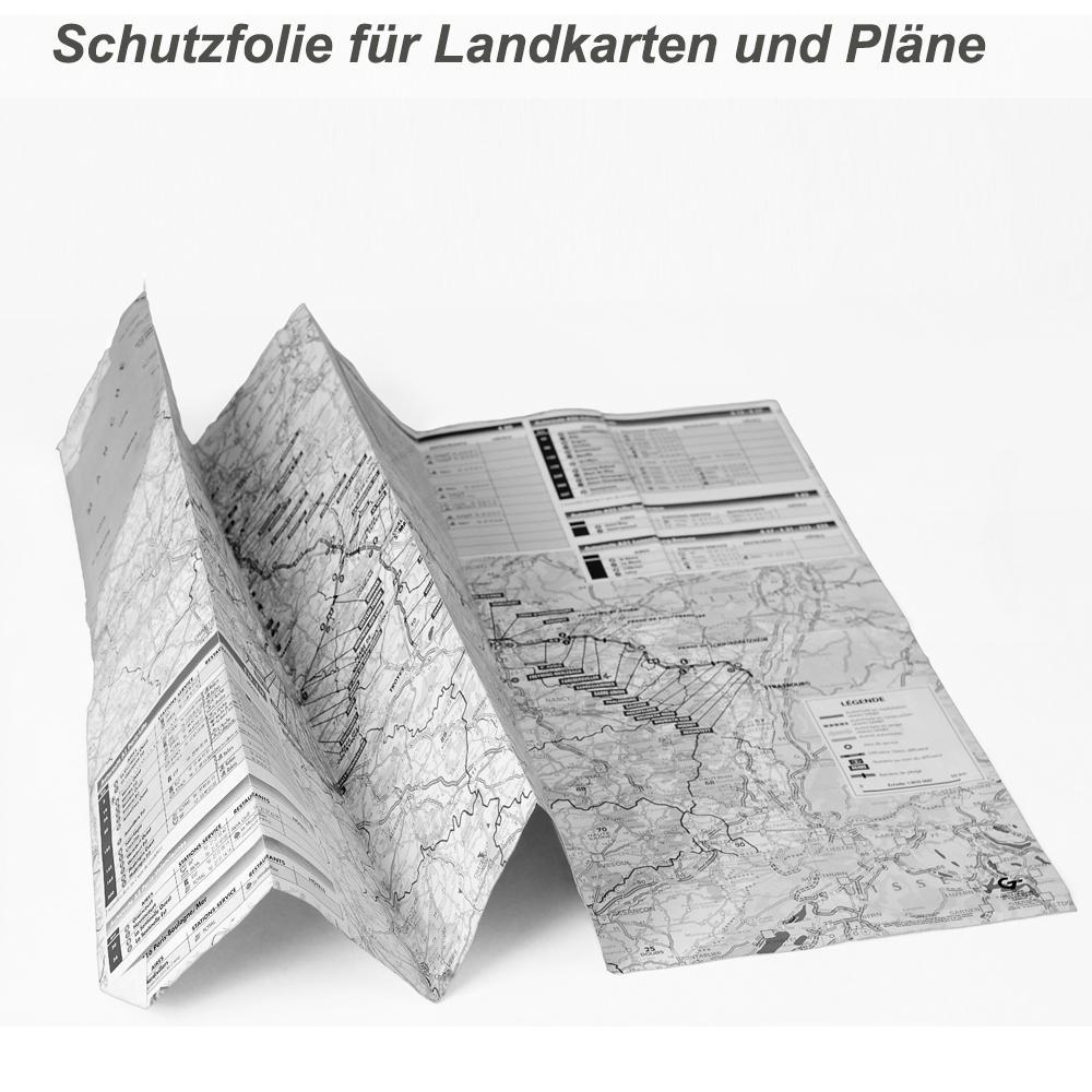 Landkarten Schutzfolie repositionierbar