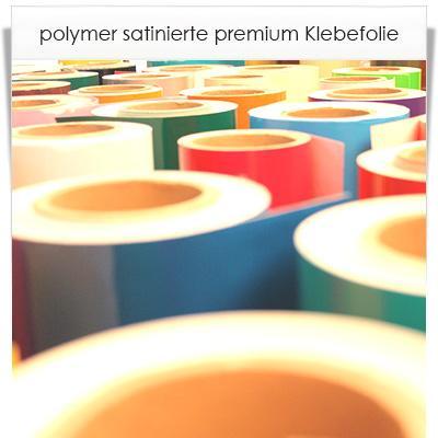 Polymer satinierte premium klebefolie in 27 farben aus den for Polymere klebefolie kuche