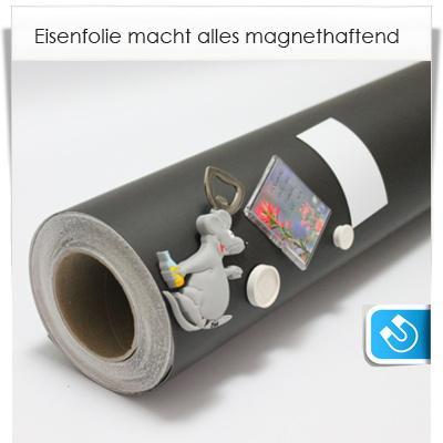 Eisen Folie - Oberfläche  magnetisch machen