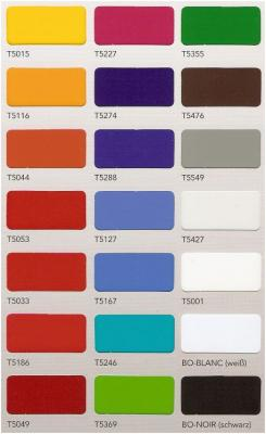 Transluzente selbstklebende farbige folie in einer breite for Polymere klebefolie