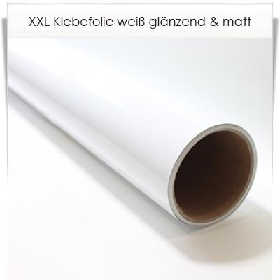 XXL Klebefolie weiß 200cm breit