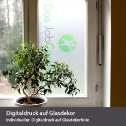 Digitaldruck auf Glasdekor
