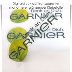 Digitaldruck transparente Klebefolie monomer