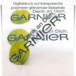 Digitaldruck transparente Klebefolie polymer