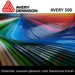 monomere Plotterfolie Avery 500 123cm