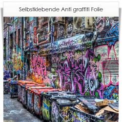 Anti Graffiti Folie