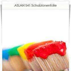 ASLAN S41 Schablonenfolie