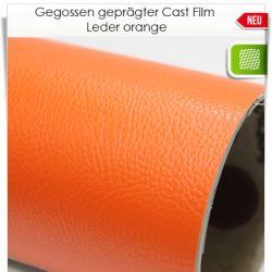 oranger Leder Cast Film