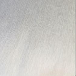 gebürstet silber matt