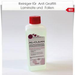 Reiniger für Anti Graffiti Lamininate