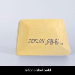 Teflon Kunststoffrakel Gold