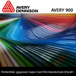 Avery 900 Super Cast Film 123cm