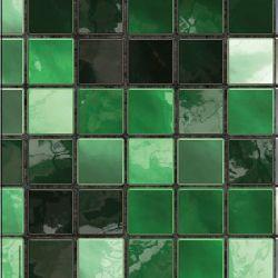 grüne Perlmutt Mosaik Fliesenfolie