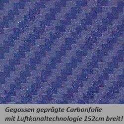 Car Wrapping Carbonfolie blau