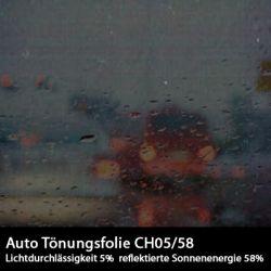Auto Tönungsfolie Charcoal 05ch ab 1 Lfm