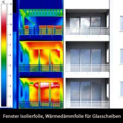 Fenster Isolierfolie Wärmedämmfolie Solar80c