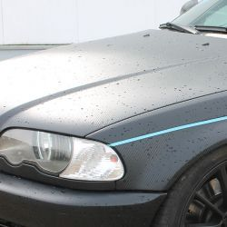 polymere Carbon Carwrapping Folie