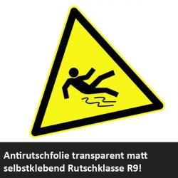 Antirutschfolie Rutschsicherheit Klasse R9