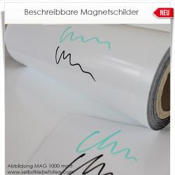 Beschreibbare Magnetschilder