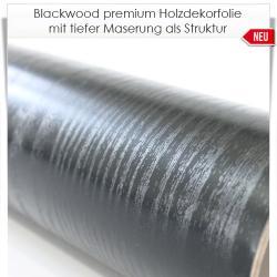 Blackwood premium Holzdekorfolie