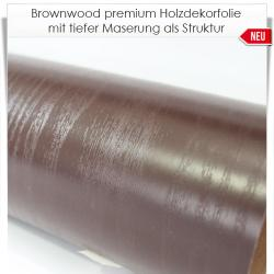 Brownwood premium Holzdekorfolie