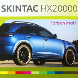 Car Wrapping Folie HX20000 Farben matt 152cm
