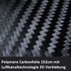 Carbon Klebefolie schwarz mit Luftkanälen