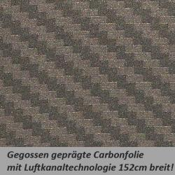 Carbonfolie anthrazit