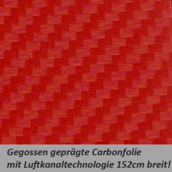 Carbonfolie rot