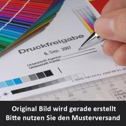 Digitaldruck auf satinierter Sichtschutzfolie 5DE99M