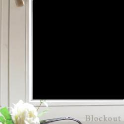 Fenster verdunkeln mit Block out Folie